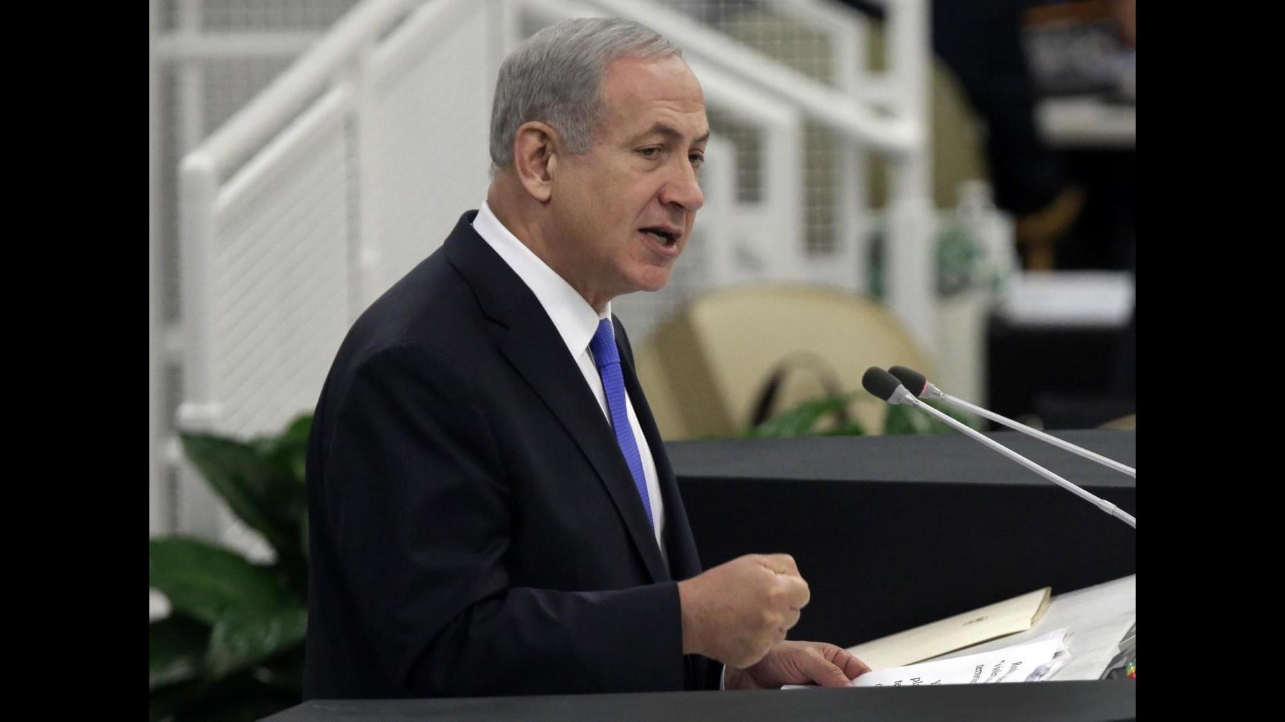 Medioriente, attesa risoluzione palestinese all'Onu. Netanyahu: No ai diktat