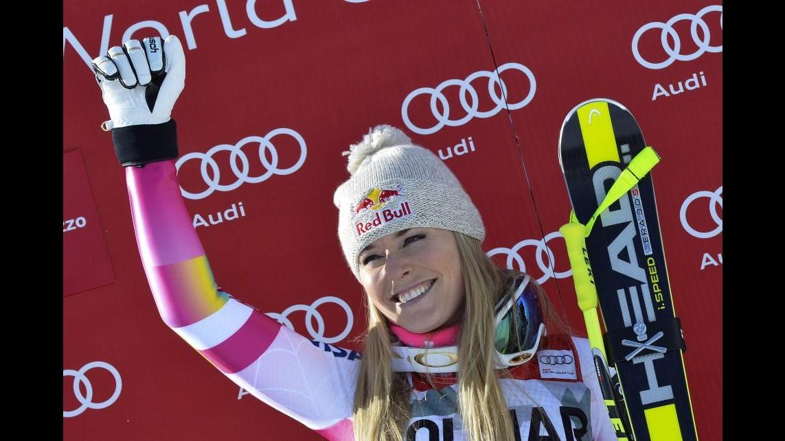 Sci, Coppa del Mondo: Vonn vince discesa libera femminile Cortina, terza Merighetti