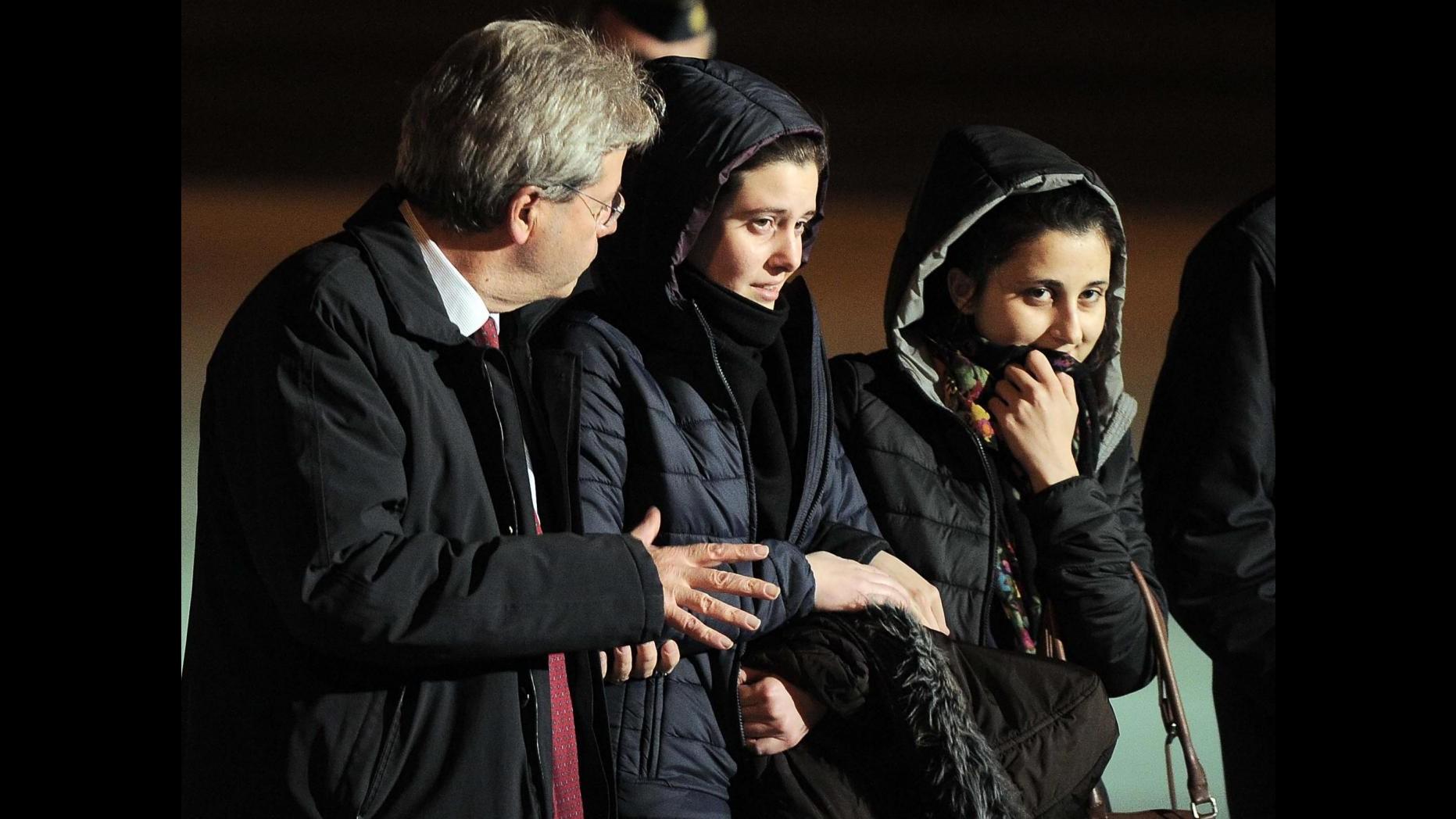 Siria, Greta e Vanessa sono in Italia