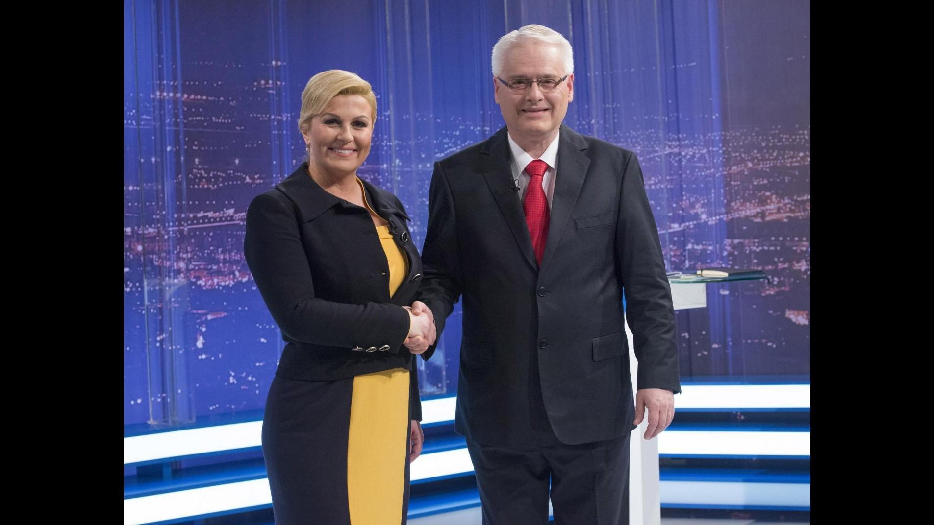 Croazia, la conservatrice Kitarovic eletta presidente