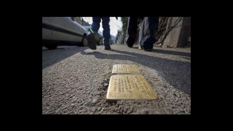A Torino le 'pietre d'inciampo' per ricordare vittime del nazismo