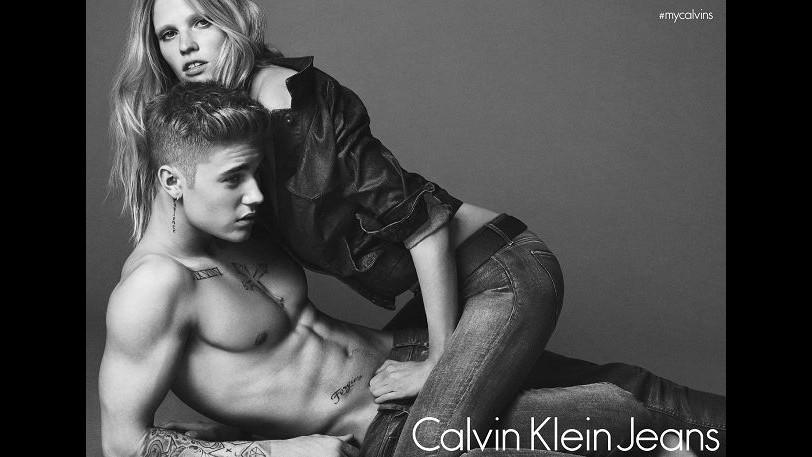 Justin Bieber nuovo volto (e corpo) per Calvin Klein Jeans