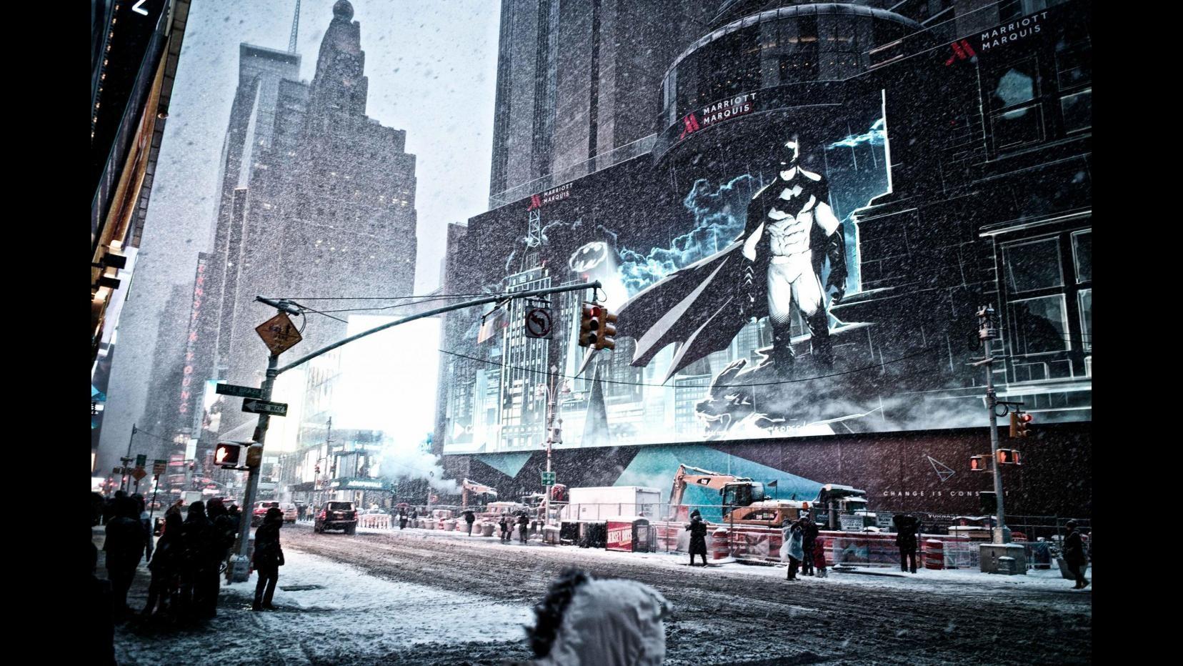 New York bloccata sotto la neveTutto chiuso, anche Palazzo Onu