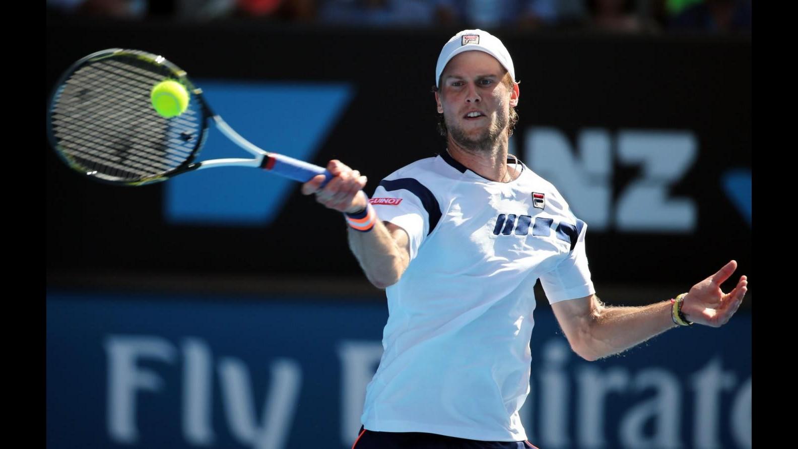 Tennis, Australian Open: Seppi si arrende al quinto set, Kyrgios ai quarti