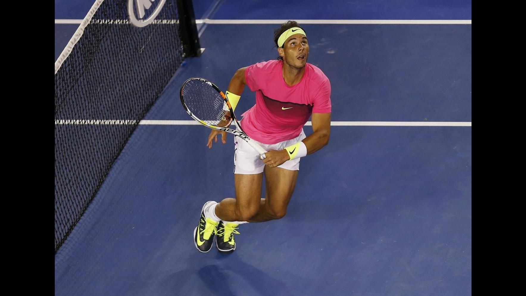 Tennis, Australian Open: Berdych e Nadal ai quarti di finale
