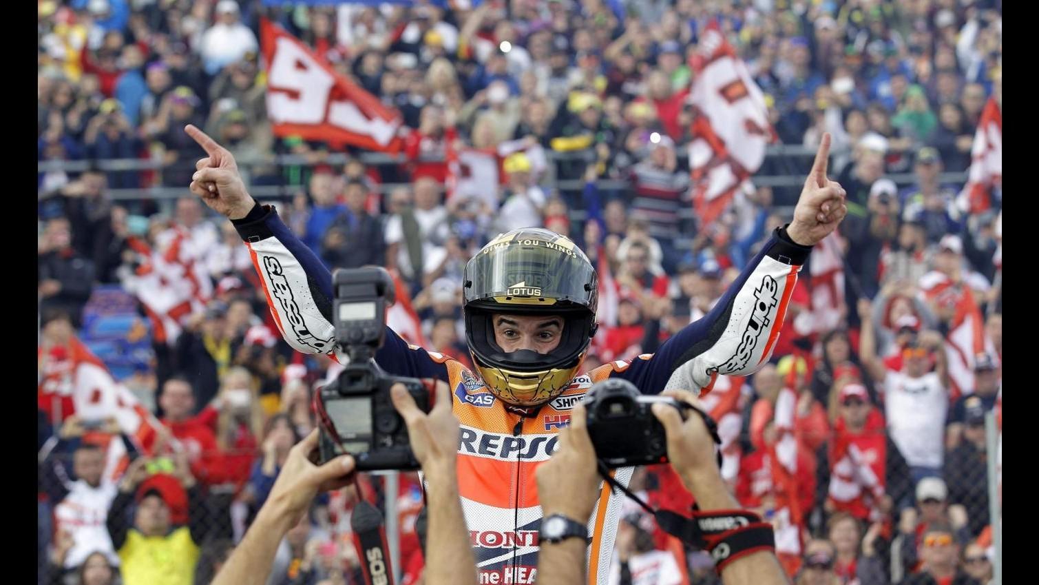 MotopGp, test Sepang: Marquez sfreccia davanti a tutti, Rossi quarto