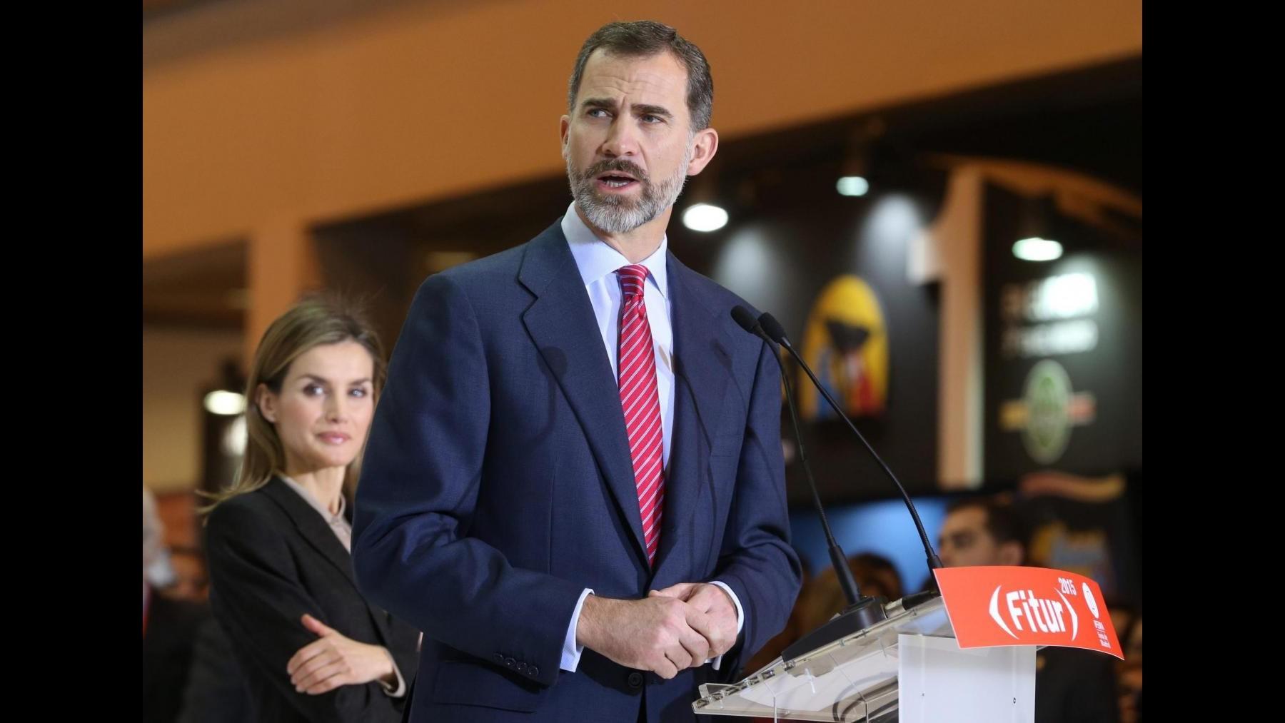 Re di Spagna Felipe festeggia 47° compleanno a vertice Unione africana