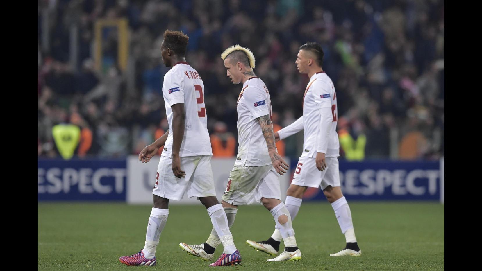Europa League: Roma fermata dal Feyenoord, 1-1 all'Olimpico