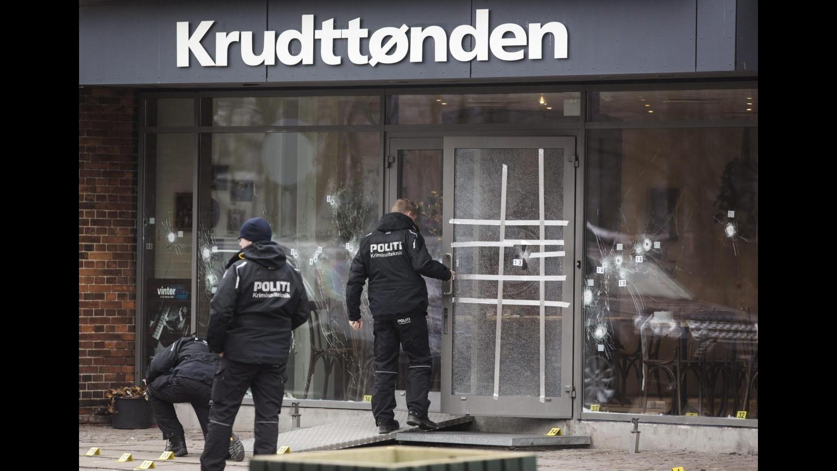Danimarca, 2 incriminati per aver aiutato l'autore delle sparatorie a Copenaghen