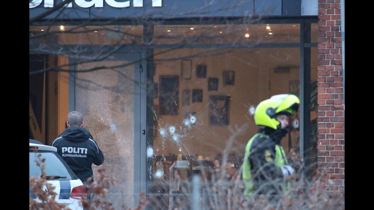 Copenaghen, spari durante incontro su blasfemia: un morto e tre feriti