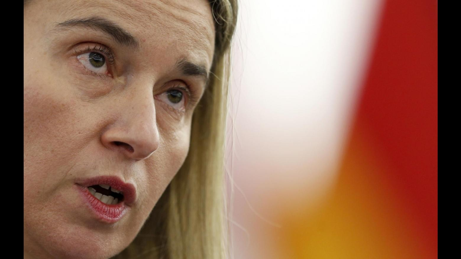 Tunisia, Mogherini in visita: Con Ue sfide comuni, rilanciare cooperazione