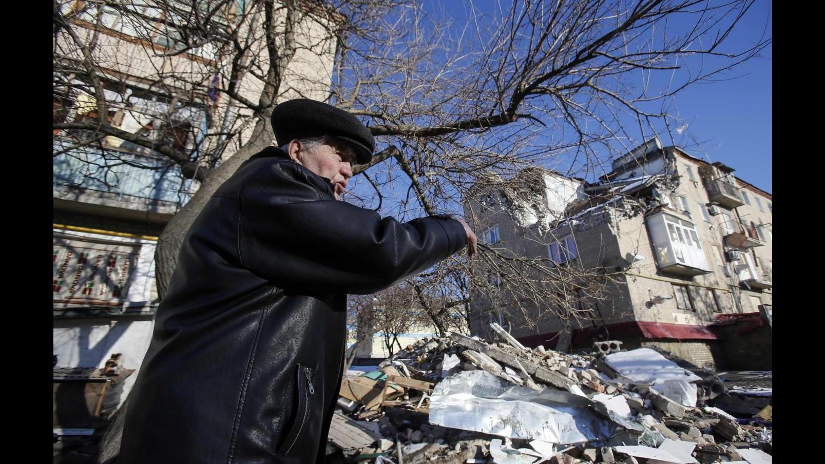 Ucraina, filorussi: 10 civili uccisi da colpi artiglieria in 24 ore