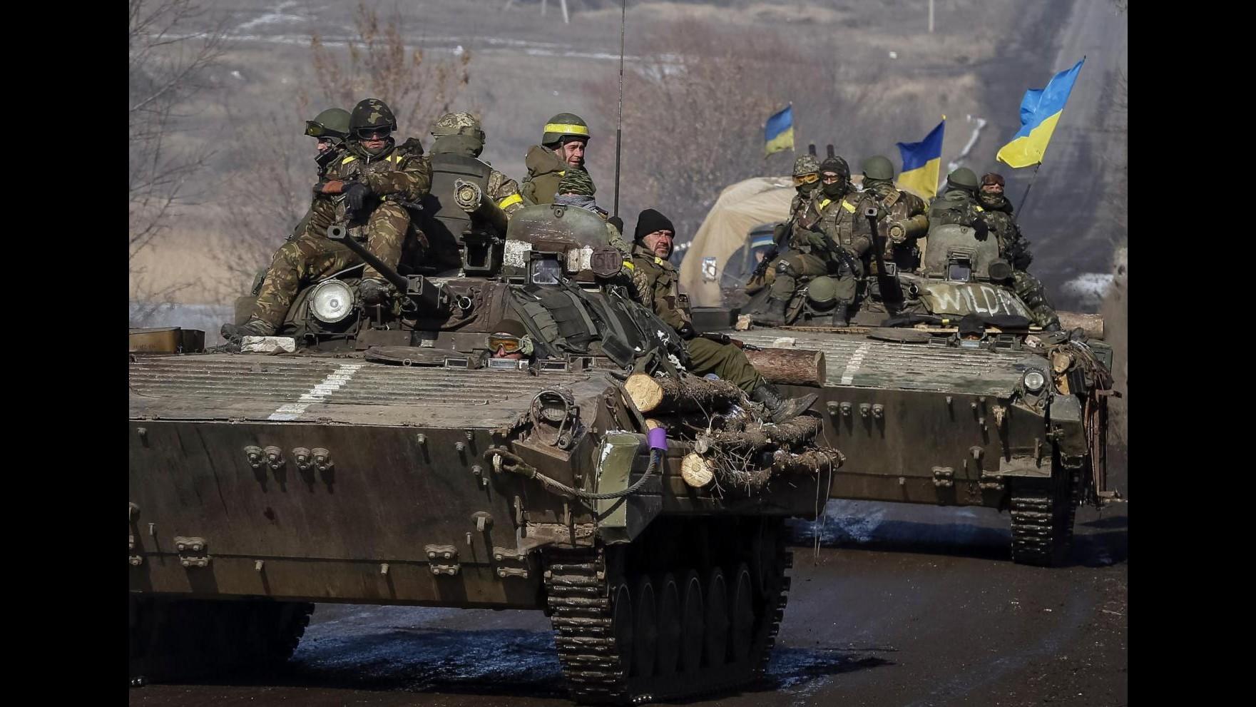 Ucraina, 8 soldati morti in scontri con filorussi in ultime 24 ore