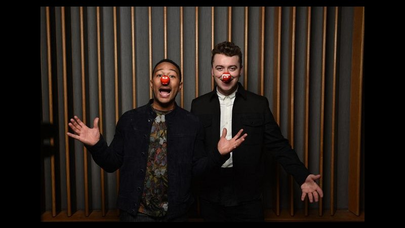 Musica, Sam Smith e John Legend insieme per beneficenza