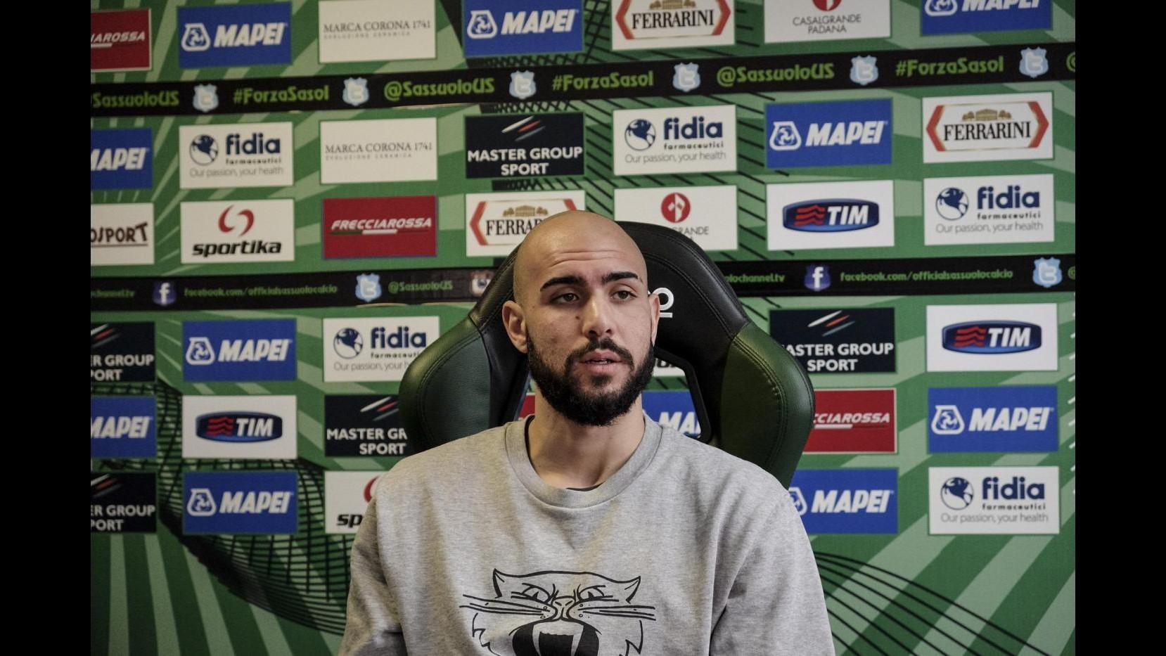Sassuolo, Zaza: Contro Juve sarà dura ma mi piace sfidare i migliori