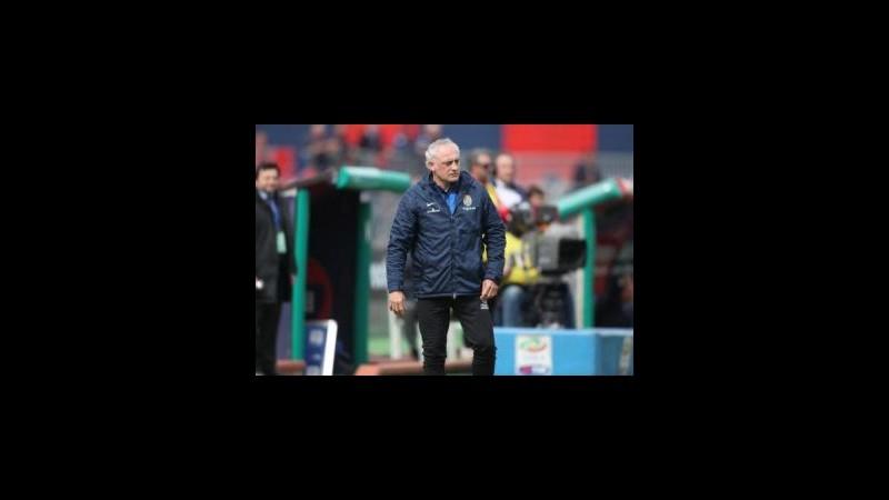 Hellas Verona, Mandorlini: Tre punti fondamentali ma è ancora molto lunga