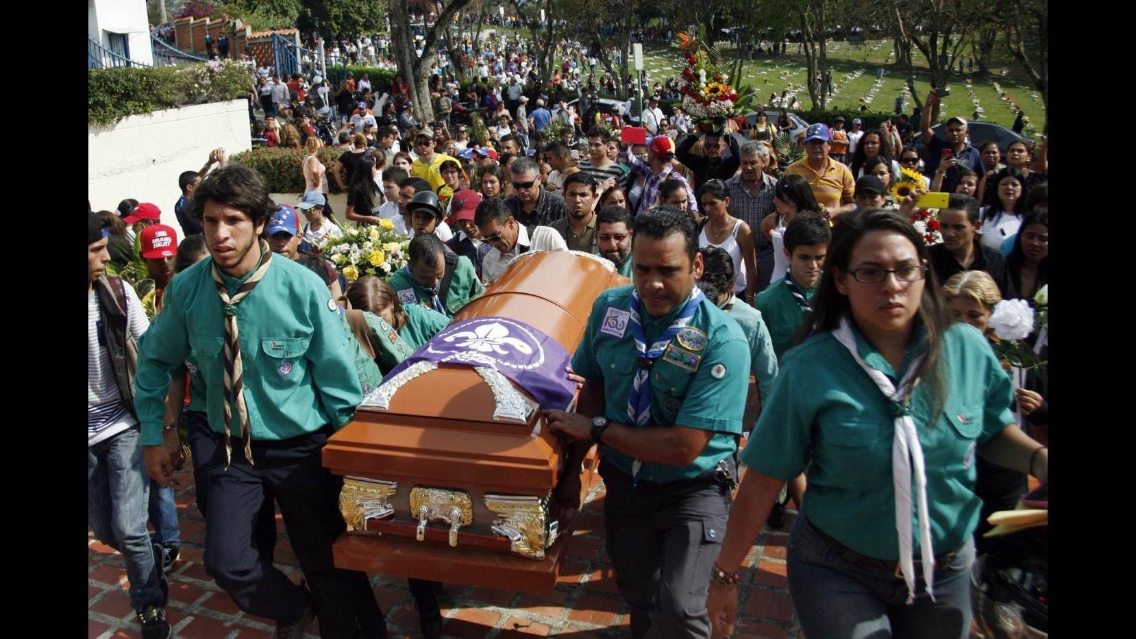 Venezuela, proteste a San Cristobal, Caracas e Rubio dopo morte 14enne