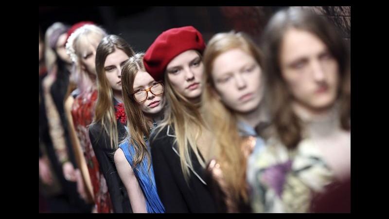 Moda, al via oggi la Milano fashion week con Gucci e Alberta Ferretti