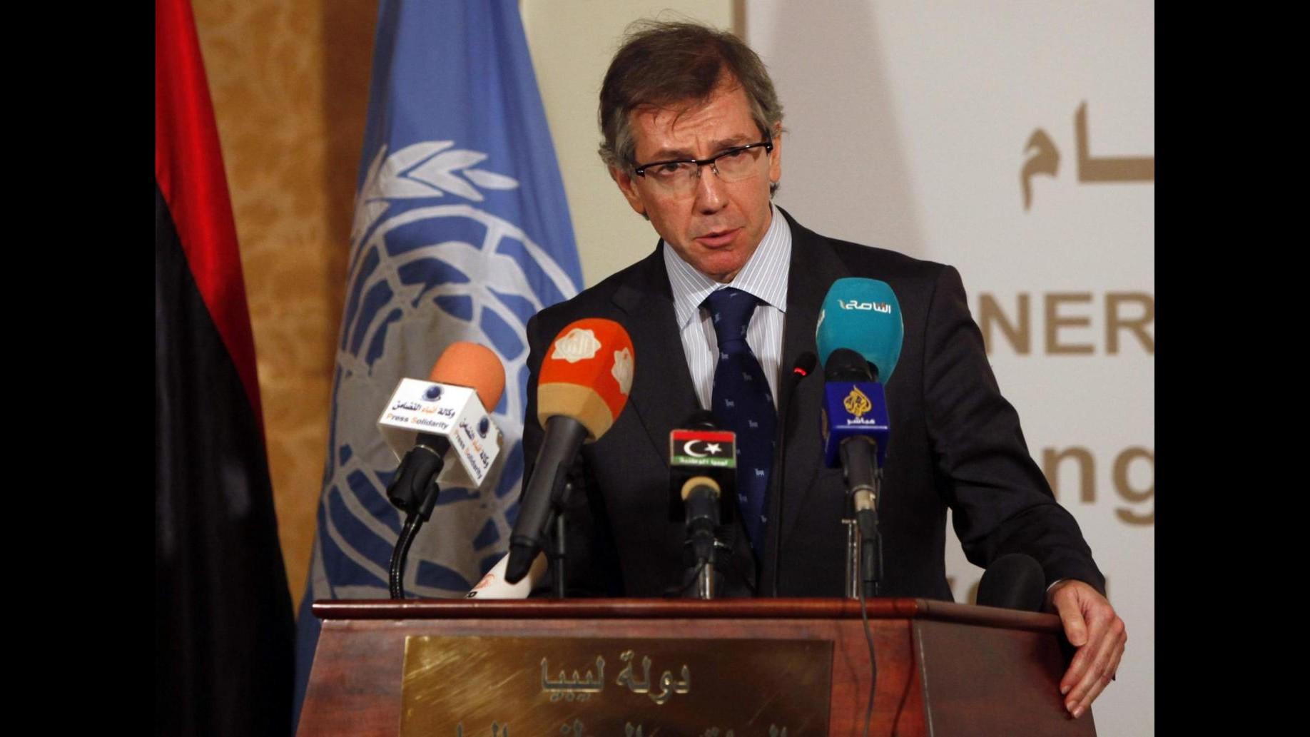Libia, rinviati sine die colloqui Onu che dovevano tenersi in Marocco