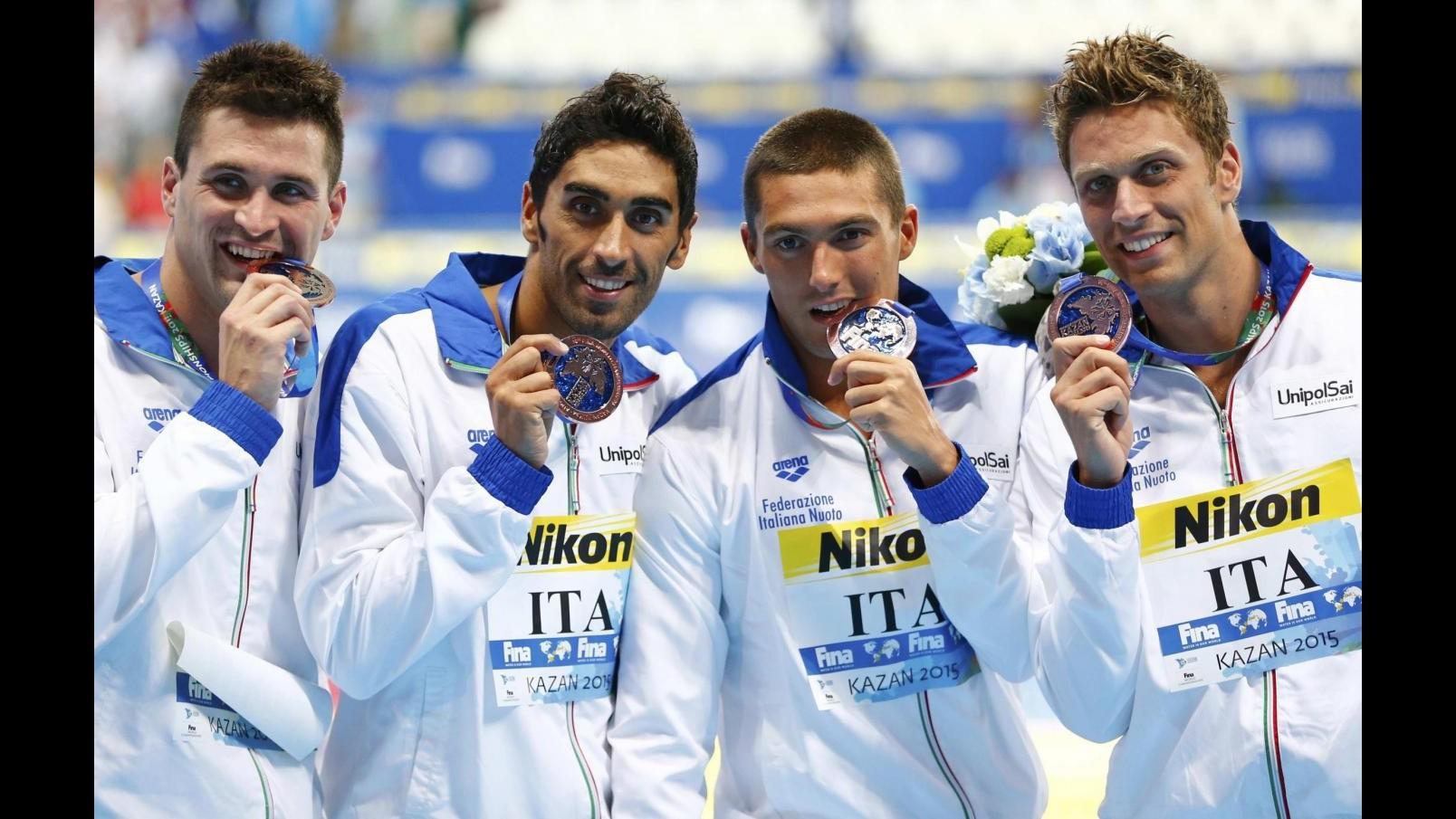 Nuoto, Mondiali: semifinalisti Orsi, Rivolta e Codia, out Dotto