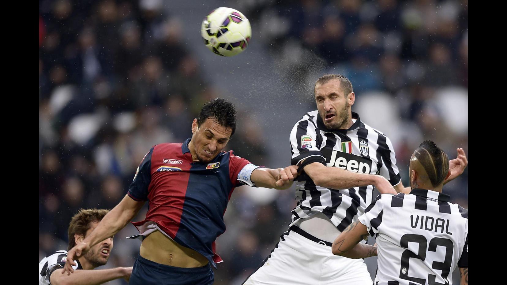 Juventus, Chiellini: Tevez leader dal primo giorno, ha risolto partita