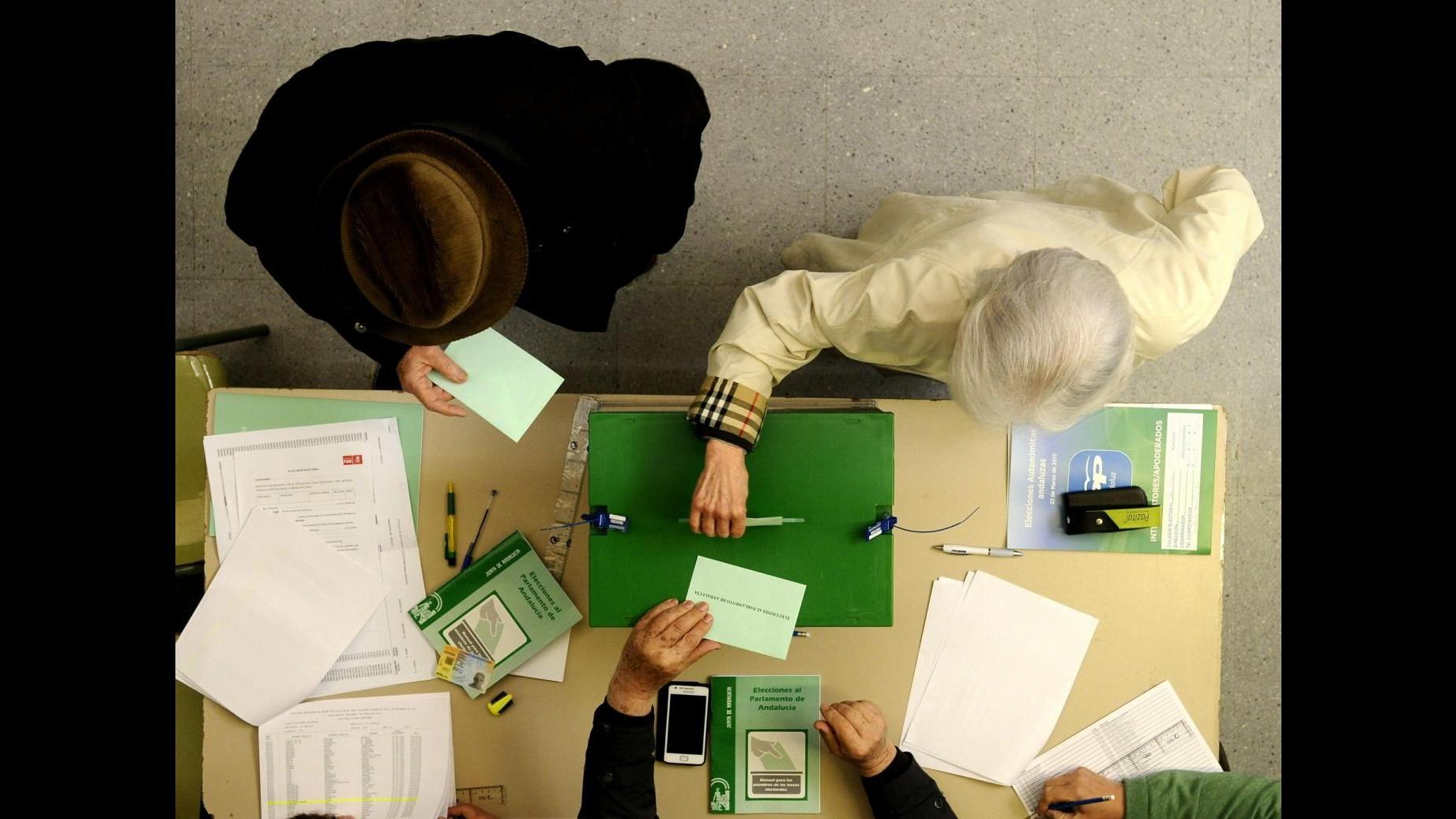 Spagna, Andalusia al voto: primo test elettorale in vista politiche