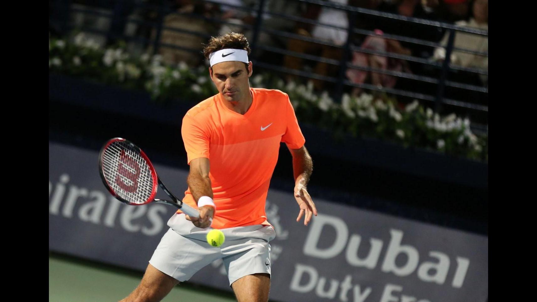 Tennis, Atp Indian Wells: Federer agli ottavi, Seppi si arrende in 2 set