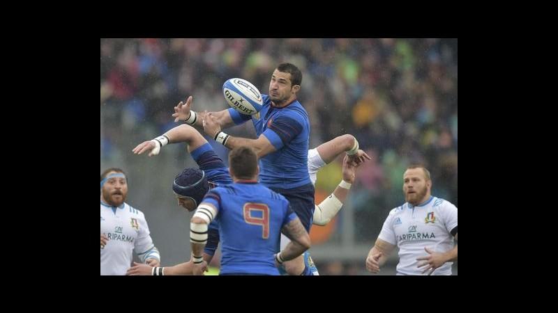 Rugby, Sei Nazioni: Francia passa all'Olimpico, Italia crolla 29-0