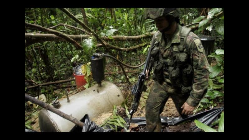 Colombia, 11 militari morti in schianto di aereo da trasporto