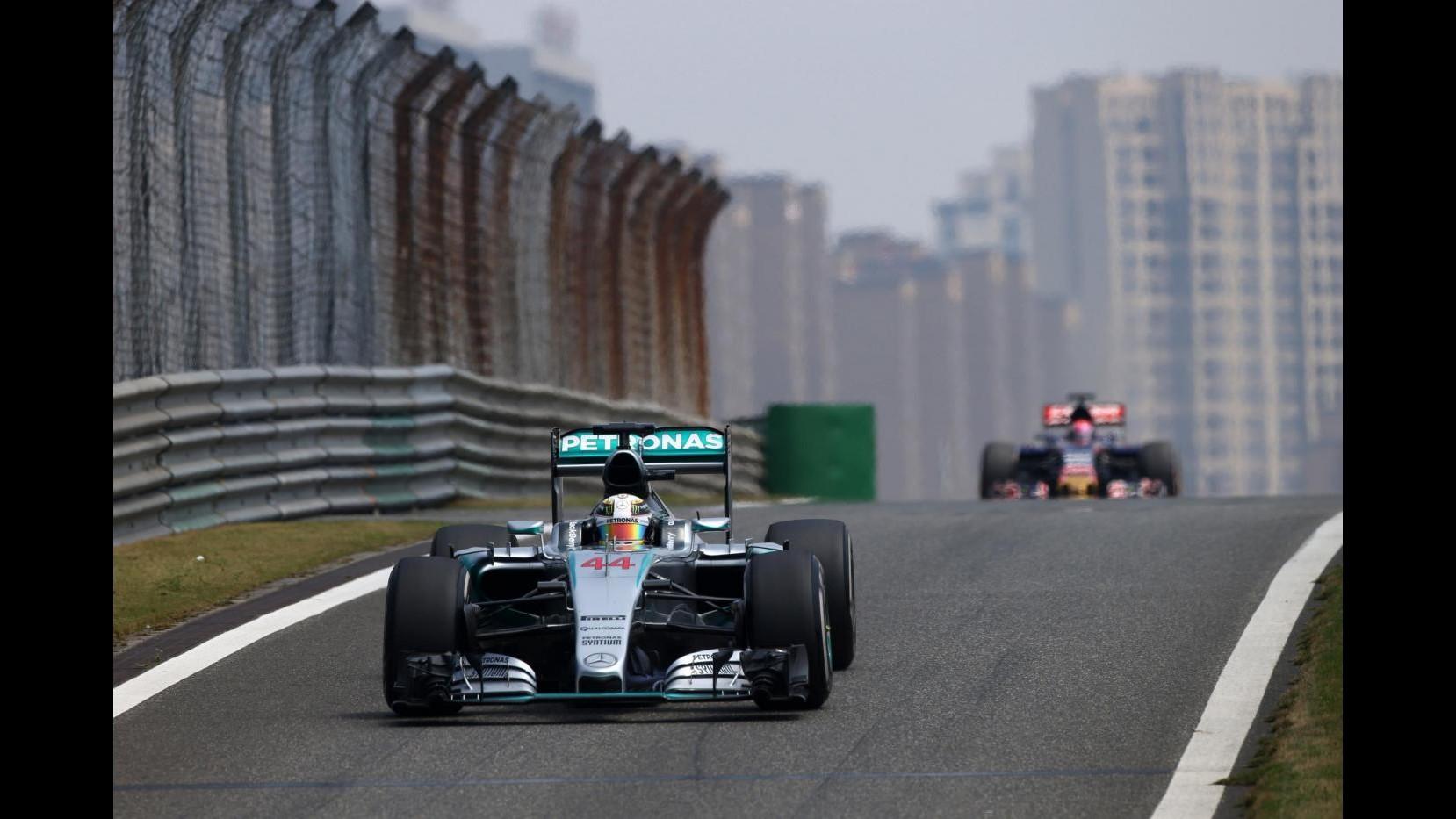 Fi, Gp Cina: Hamilton domina le seconde libere, poi Rakkonen. Vettel quarto