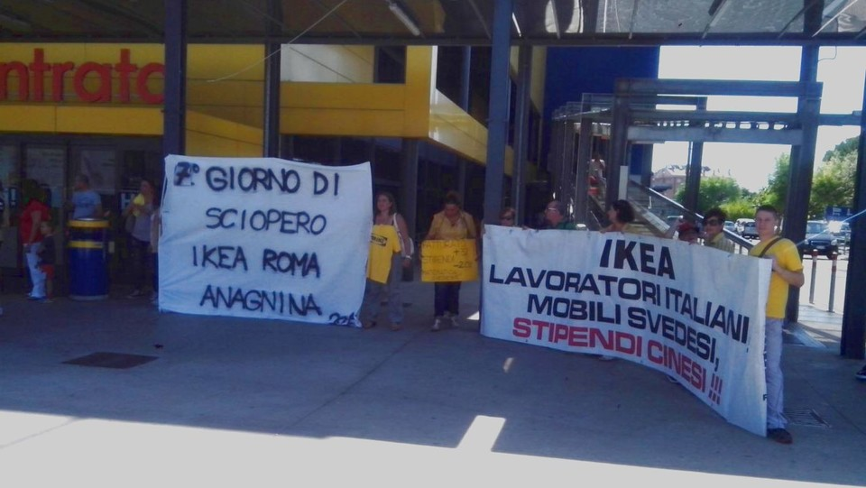 Ikea Deserto A Roma Lavoratori In Sciopero Da Una Settimana