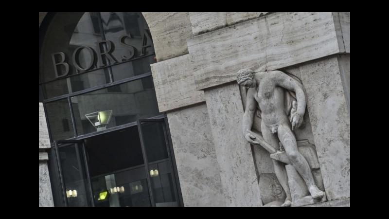 Borsa, avvio in rialzo per Piazza Affari
