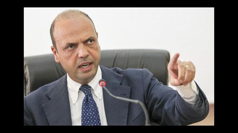 Terrorismo, Alfano: Nessun Paese a rischio zero, neanche Italia