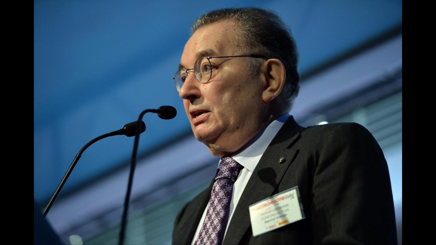 Squinzi: L'Italia torni a crescere del 2% l'anno, avanti con le riforme