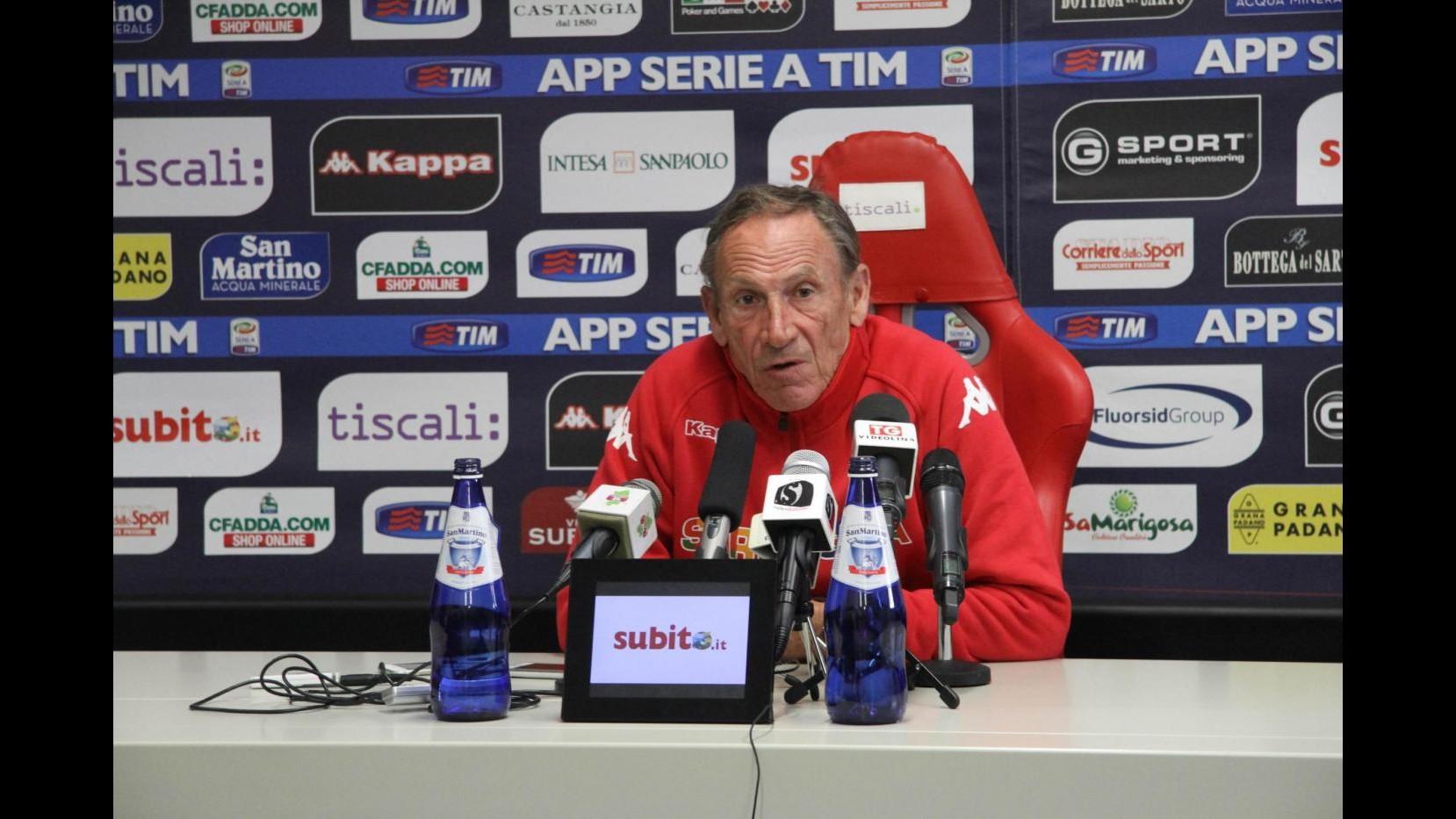 Calcio, Zeman carica Cagliari: Concentrazione e motivazione contro Lazio