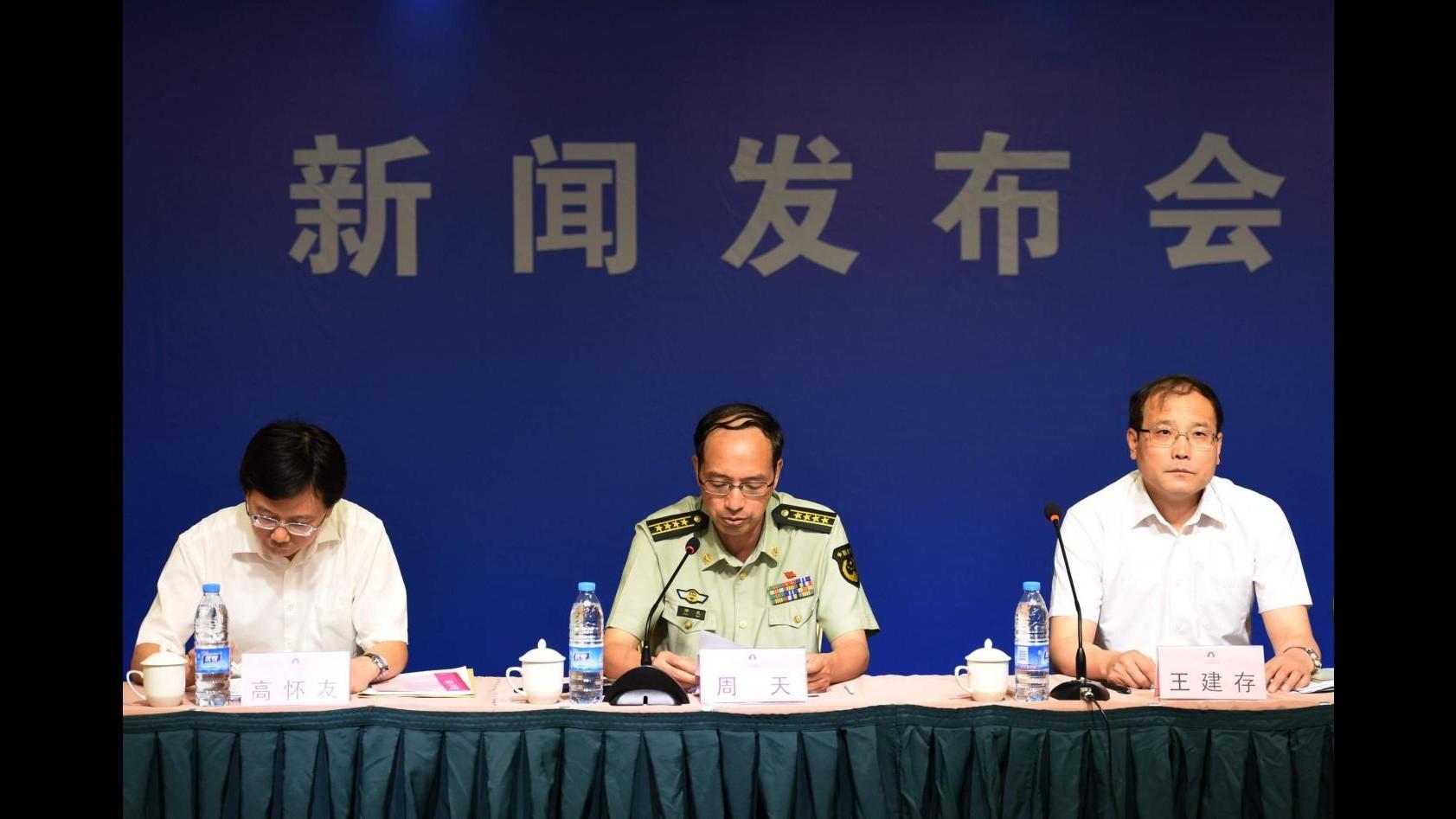 Cina, salgono a 56 i morti nell'esplosione. Il Governo: Sostanze non identificabili
