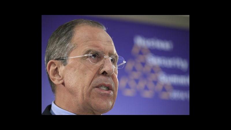 Iran, Lavrov: Torno a colloqui su nucleare, buone possibilità successo