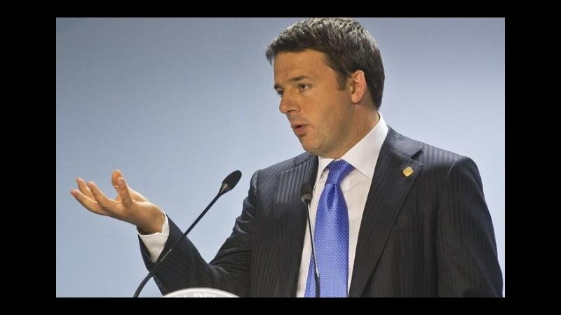 Sud, Renzi alla direzione Pd: Andrò nella Terra dei Fuochi, arriveremo a togliere le ecoballe