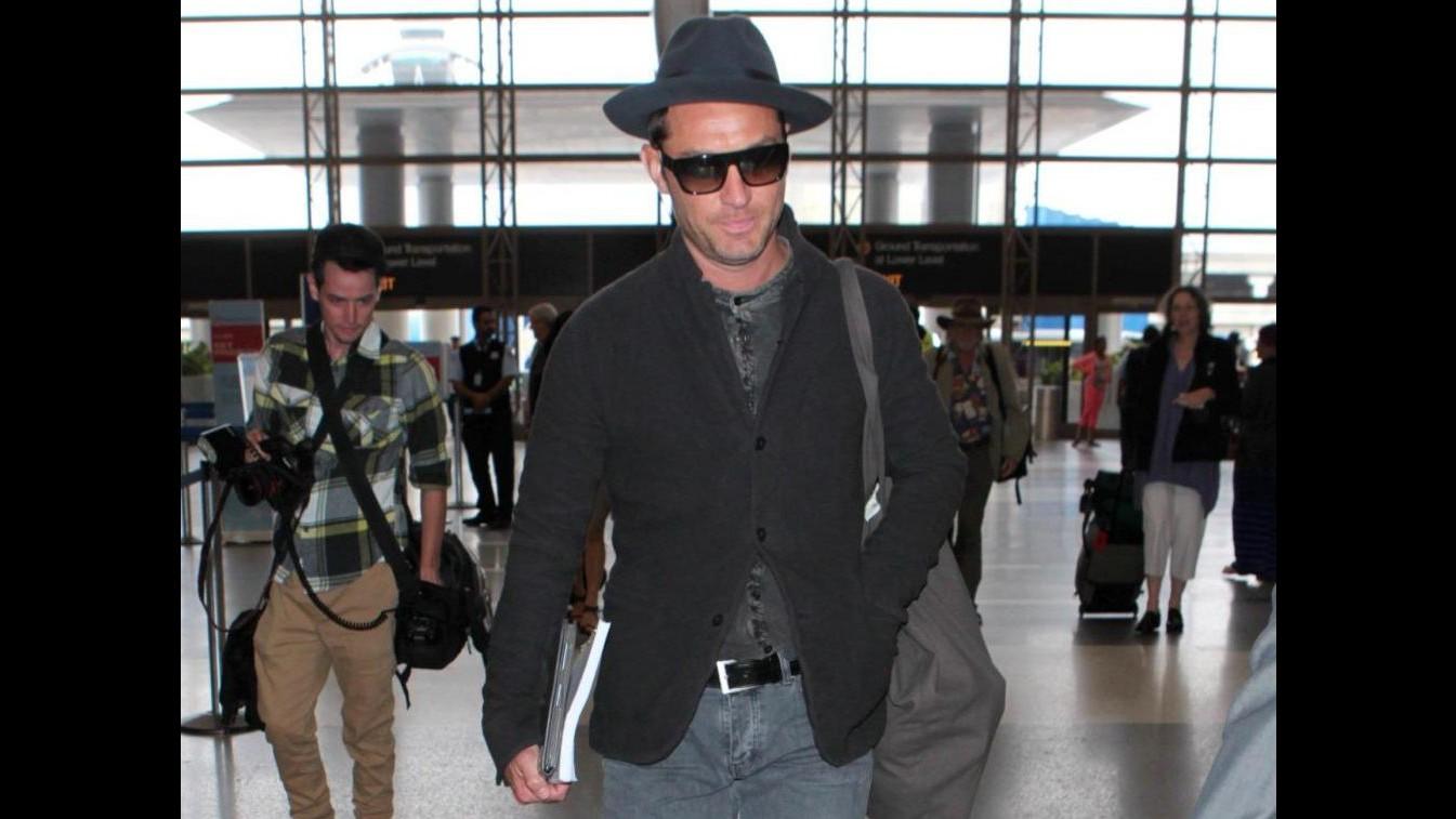 Jude Law in splendida forma a Los Angeles, nuovi progetti in vista?
