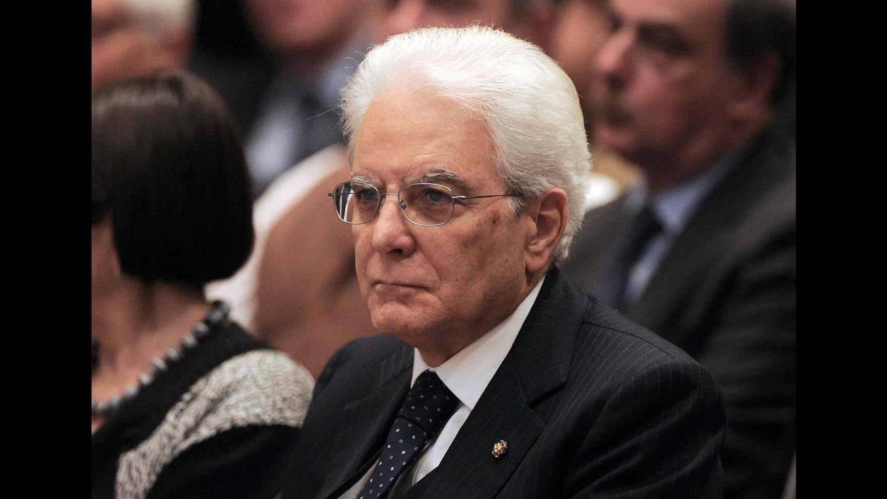 Toaff, Mattarella: Testimone di pace e dialogo per tutta l'Italia