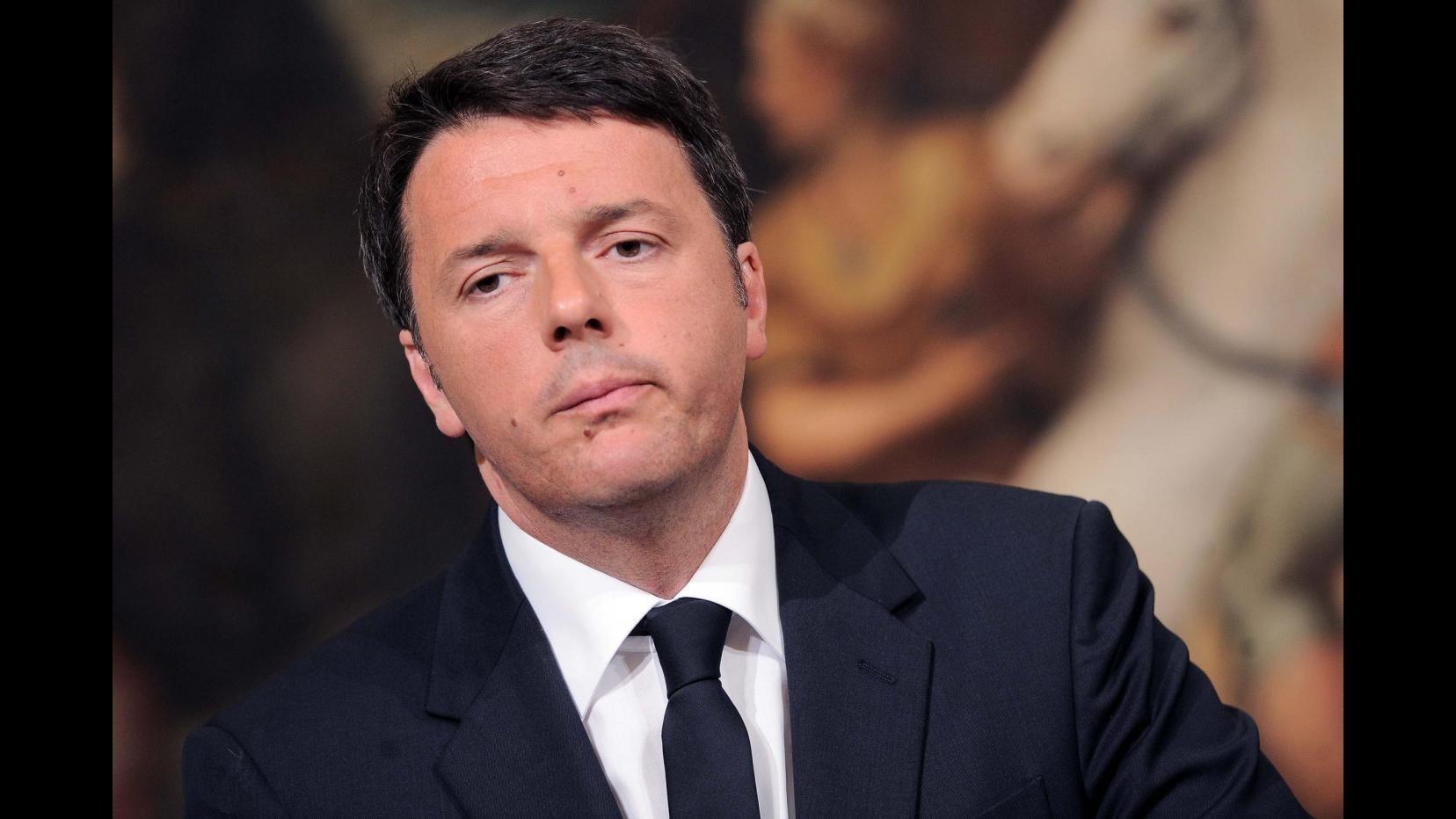 Libia, Renzi: Escludo intervento di terra. Ue affronti questione in modo serio