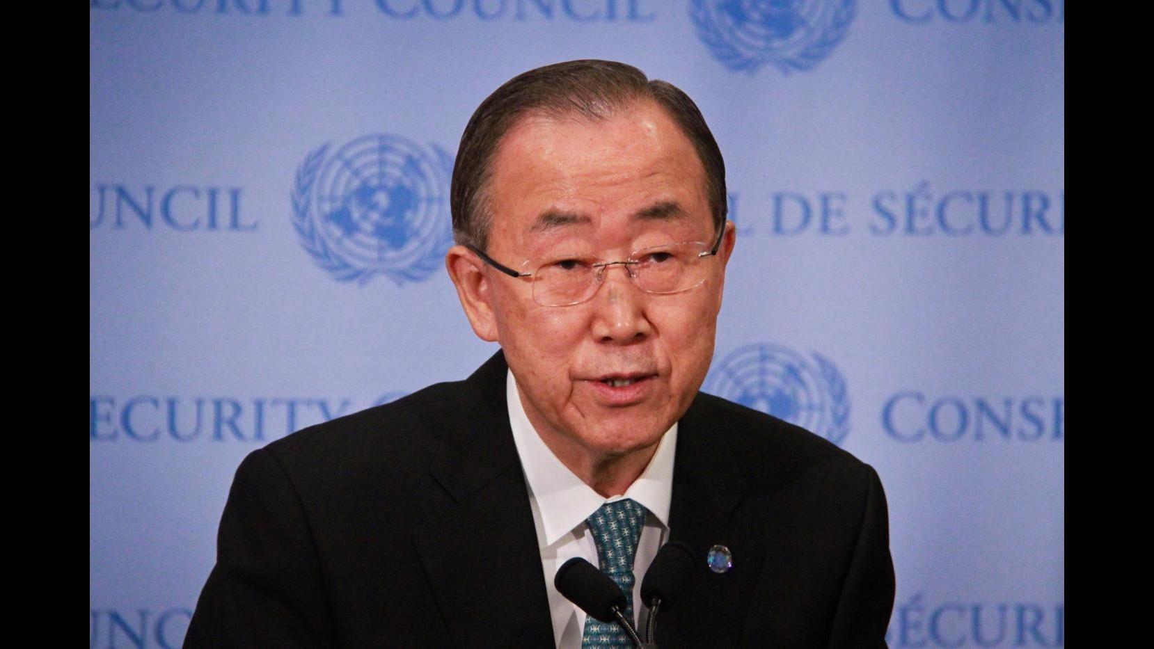 Sbarchi, Ban Ki-moon: Ue dia risposta a morti nel Mediterraneo