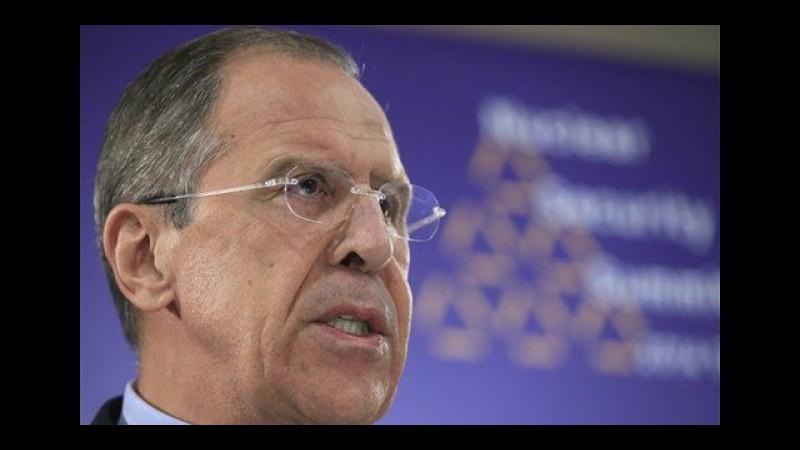 Ucraina, Lavrov: Da Usa arrivano segnali di volontà di dialogo