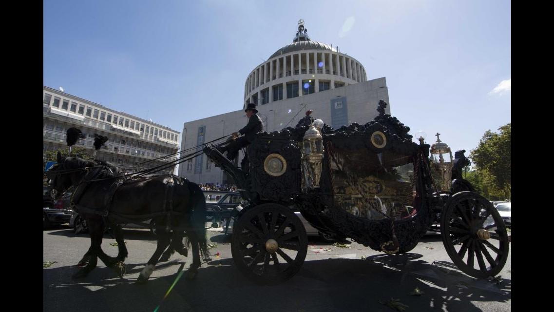 Funerali di Casamonica, in corso il Comitato per l'ordine e la sicurezza