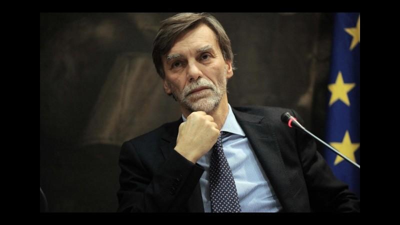 Delrio: Rete ferroviaria è patrimonio pubblico, valutiamo tutte le opzioni