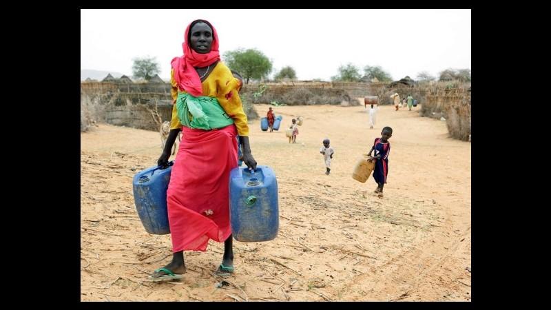 La Fao realizzerà un database per aiutare i Paesi con scarsità di risorse idriche