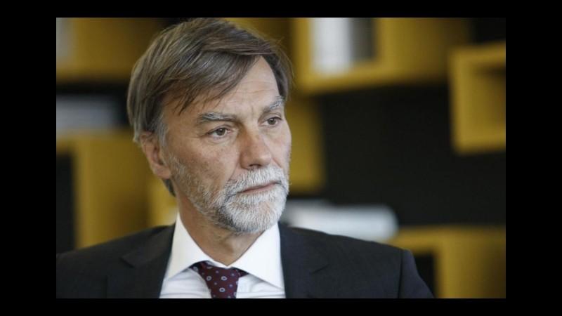 Delrio: La paura non deve fermare le grandi opere, faremo l'alta velocità anche al Sud