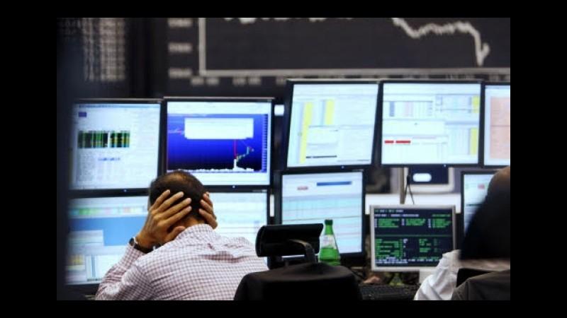Il crollo delle borse asiatiche affonda i listini europei, precipita anche Piazza Affari: -5,96%