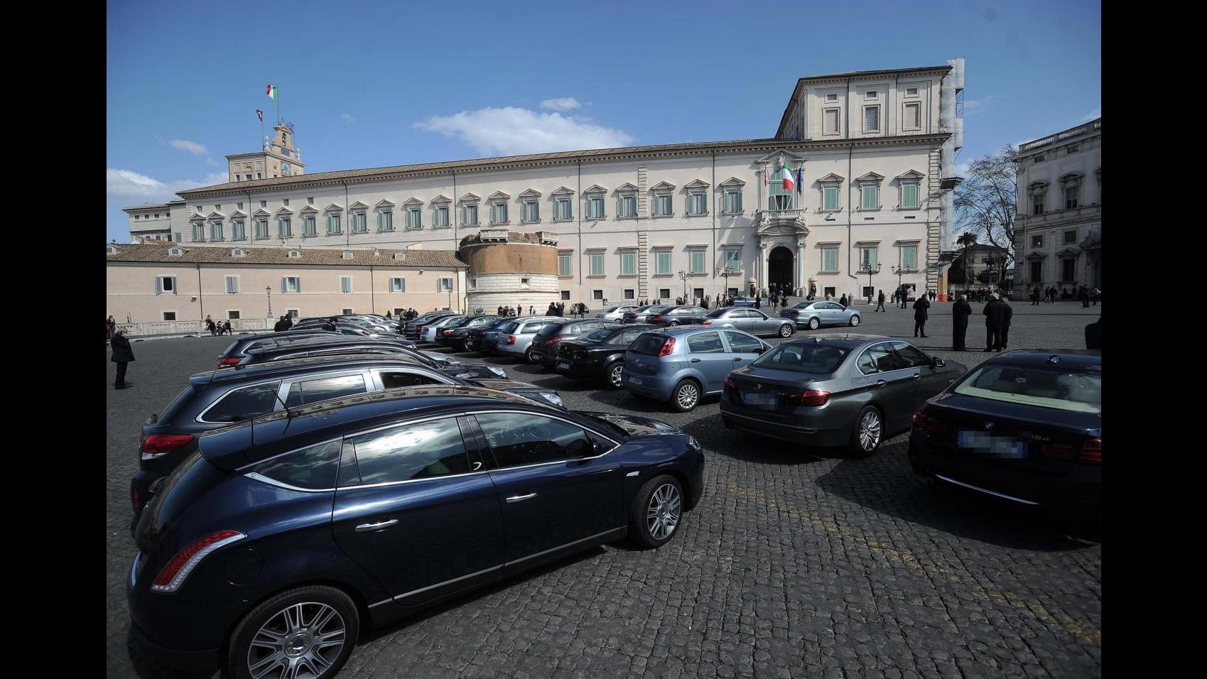 Spending review, C. Conti: Bene su auto blu, tagliato 20% dei costi