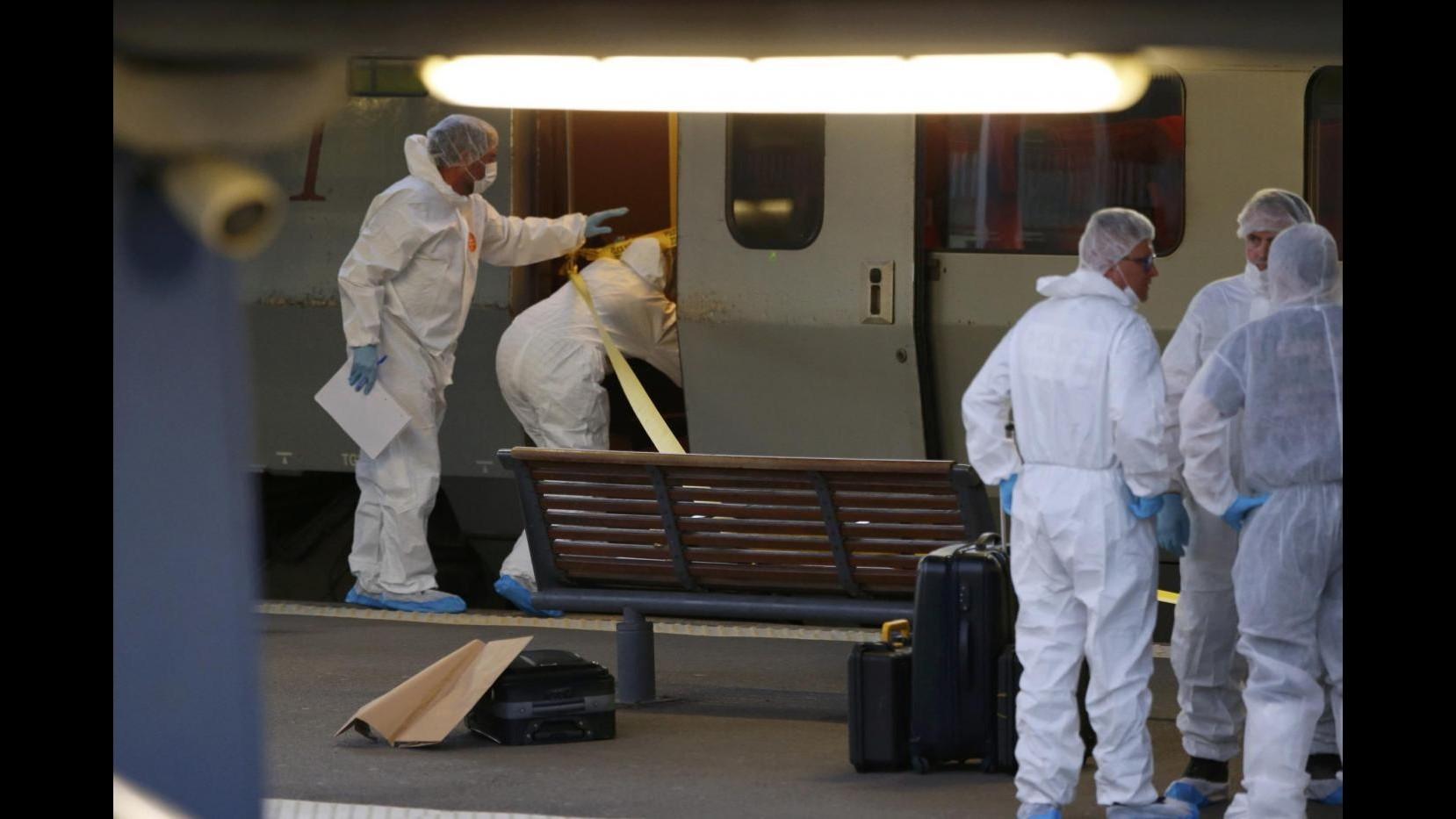 Sparatoria treno, media: Autore faceva parte di cellula Verviers